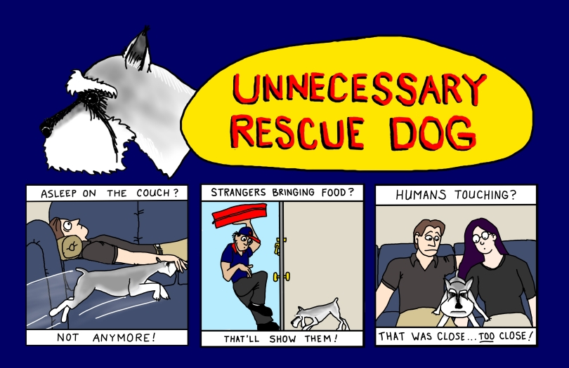 Unnecessary Rescue Dog - JPEG